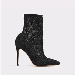 Aldo laced heels size 7